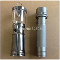 21 LED aluminium flashlight camping lantern light