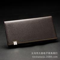 2014 high quality   men's  Purse Wallet Korean spot wholesale  wholesale  men wallet zipper