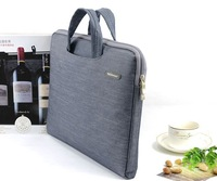 """2015 new Slim laptop handbag computer bags  notebook case cover 11"""" 12"""" 13"""" 14"""" 15"""" inch men for macbook pro  free dropping"""