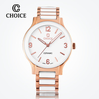 counter genuine classic ceramic bracelet fashion watch dial quartz female form A10S