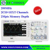 "SIGLENT SDS1102CNL  Digital Oscilloscope 200MHz 2Ch 1GS/s USB 7"" TFT LCD"