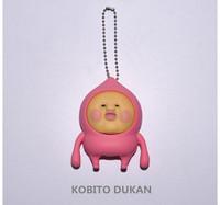 Kobito Dukan Cobit Zukan Kakure Momojiri Coin Purse Soft PVC Purse Cute