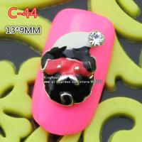 c-44 new christmas 30pcs 3D Shiny Crystal Rhinestone Alloy Design Nail Art Glitters Decoration free shipping