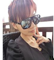 NEWS fashion Retro tidal wave of men women sunglasses mirror sunglasses big black box HYL183