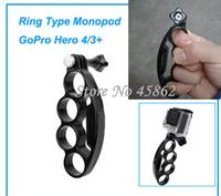 New Gopro accessories Gopro Hero 4 Self Timer Ring Type Monopod w/ Tripod Screw for GoPro Hero 4 Hero 3+ 3 2 HD Accessories