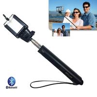 Extendable Bluetooth Handheld Monopod Wireless Remote Self Timer Shutter Selfie Handle Mount Holder Pole Stick & Phone Adapter