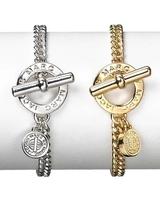 Fashion Charm Bracelet 18k gold plated Lettes Chain Bracelets Jewelry For Women