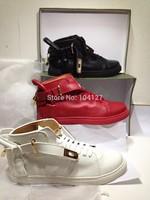 Promotions 2014 New Designer Brand Style high qualtiy women's shoes men's gole lock sneakers famous flats sports shoes EUR 35-44