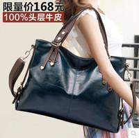 2015 women messenger bag new women handbag fashion genuine leather bag portable shoulder bag cross-body bolsas women leather bag