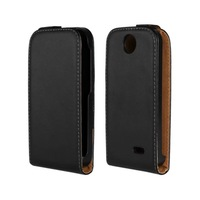 2014 New Luxury Flip Leather Case Black Cover For HTC Desire 310 / D310W / Mobile Phone Cases Bag