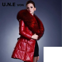 Raccoon Fur Coat Female Duck Down Jacket Women Leather Jacket Winter Coat Women Winter Jacket Women Blazer Feminino Woman Coat