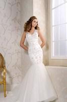 Vestidos De Noivas 2014 Sexy V-neck Vestido De Noiva Curto Exquisite Beading Mermaid Wedding Dresses Bridal Gown Wedding Dress