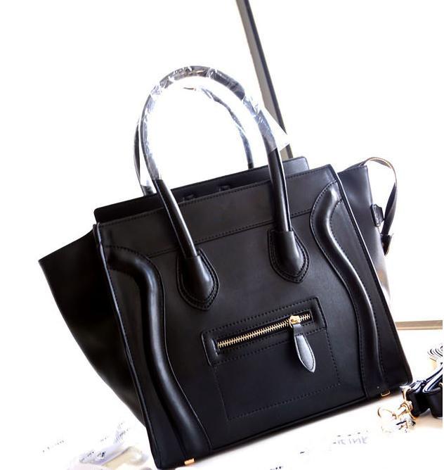 AliExpress.com Product - hot!! High quality famous C brand Women Smiley Bags Leather Shoulder Messenger handbag Phantom Tote handbag Line Large Size