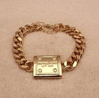 New Brand Gold Bracelet for Women Men