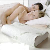 Bamboo fibre slow rebound memory pillow space pillow health care pillow neck pillow