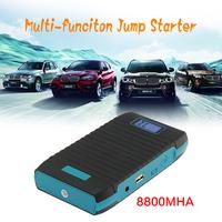 GP-B003 8800mAh Multi-Function Car Emergency Jump Starter Power Bank External Backup Battery Charger for Mobile Phone Tablet