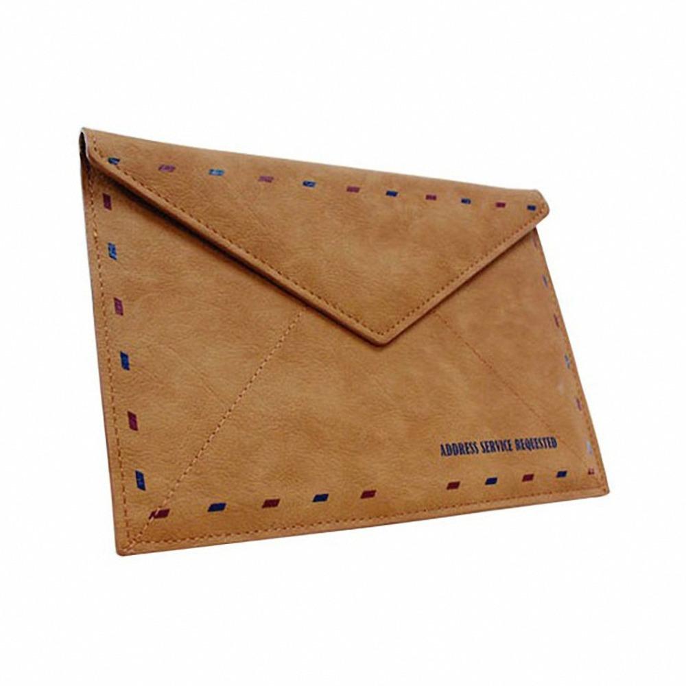 2 Vintage Brown Envelope
