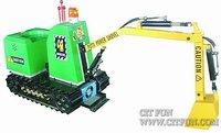 real small excavator game machine