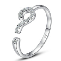 2014 Christmas gift, 925 sterling silver Set auger ring, ladies rings, manufacturers selling, counter genuine, free shipping