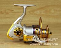 EF1000-EF7000 Fishing Reel 5.5:1  9BB+1RB High Quality Front Drag Spining Reel Spining Wheel Fake Bait Takel Free Shipping