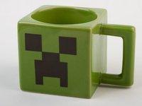 Free Shipping Super High Quality Novelty Gifts Ceramic Coffee Mug Minecraft Creeper Face Mug