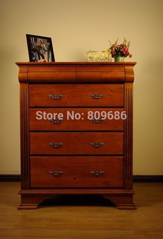 Solid Wood Bedroom Furniture Drawer Cabinet New Zealand Pine Furniture