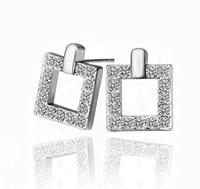 wholesale 18K Gold plated luxury austrian crystal earrings fashion Jewelry 2014111314
