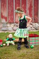 Baby Anna Princess Pettiskirt Dress Headband Costume Party Dress