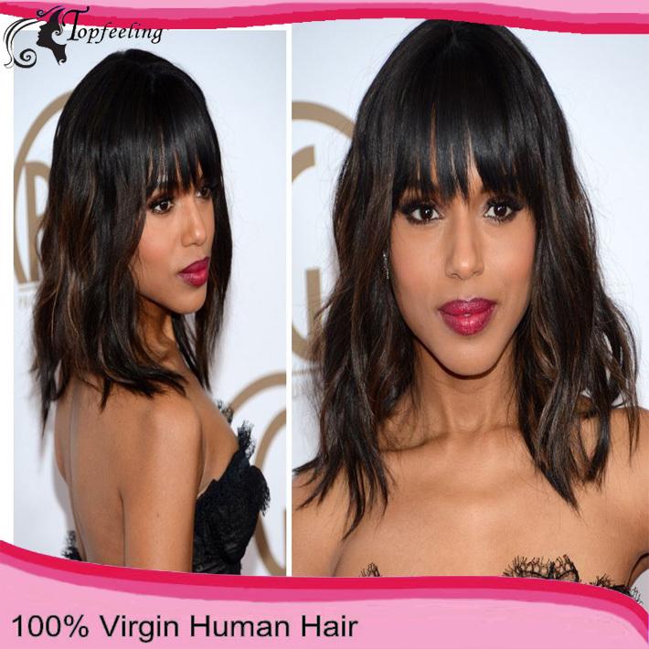 African American Human Hair Bob Wigs 91