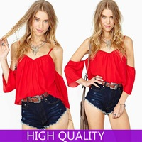 Blusas Femininas 2015 New Fashion Off Shoulder Backless Solid Sexy Women Crop Tops Blusa Tank Top Casual Vests Bowknot Clothing