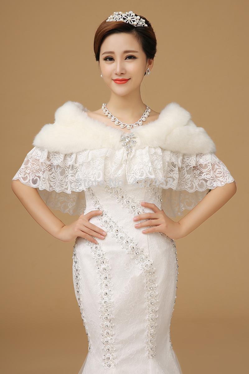 Aliexpress.com : Buy 2015 Lace Shrugs for Dresses Cheap Bridal Lace ...