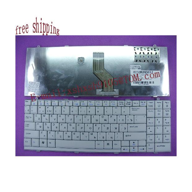 free shipping for LG R560 R580 RU laptop Series white Keyboard(China (Mainland))