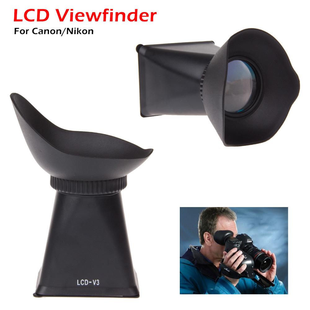 ePhoto DSLR Digital Single Lens Reflex Camera Video LCD Viewfinder for Canon 5DII 7D 500D 550D 600D/60D(China (Mainland))