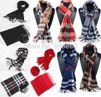 Men Long Plaid Scarf Autum/Winter188x34cm Fashion male Tassel Tartan Check Shawl Scarf Leisure Warm Cashmere Plaid Scarf