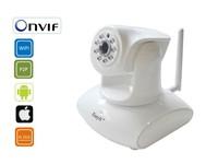 2.0MP 1080p  IP Camera Wifi Wireless HD White Dome IR High Resolution Plastice Home CCTV Security H3-147W