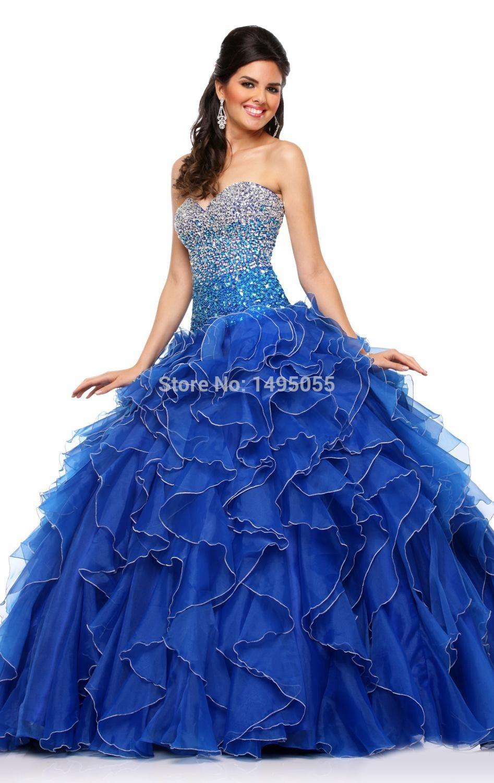 Popular Royal Blue Quinceanera Dresses-Buy Cheap Royal Blue Quinceanera Dresses lots from China ...