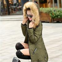 The new autumn and winter 2014 Korean Women Slim Hooded thickening big yards white duck down jacket 1409 winter jacket women