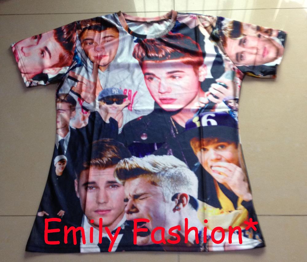 Мужская футболка Emily fashion HD 3D t A-14 мужская футболка emily fashion t rihanna 3d t s m l xl xxl a 51