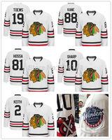 Chicago Blackhawks Jonathan Toews Patrick Kane Marian Hossa Patrick Sharp Duncan Keith White 2015 Winter Classic Hockey Jerseys