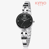 KIMIO Brand Watch Women High Quality Stainless Steel Quatz Movement Watches,3ATM Water Resistant,Free Shipping