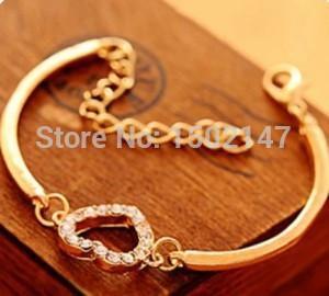 2015 HOT NEW fashion Chain braceletLove bracelet jewelrywomen s bracelet free shipping