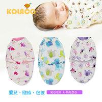 Free shipping Double layer baby hold blanket newborn cartoon sleeping bag softening baby sleepsacks anti tipi