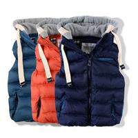 new 2014 autumn winter Children's vest baby clothes boys vest child thick warm cotton waistcoat kids jackets