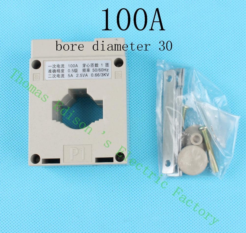 BH-100/5 100A ЛМК BH трансформатор тока для ватт метров использования диаметр отверстия 30 100