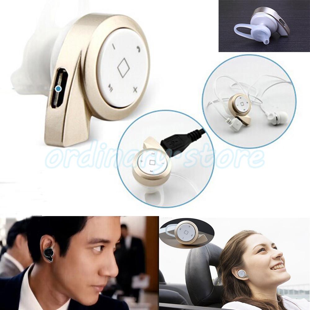 1X Universal Luxury Portable Mini -A8 Stereo Telephone Wireless Bluetooth 4.0 Headset Headphone Earphone Handsfree Free Shipping(China (Mainland))