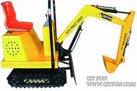 amusement real excavator game machine