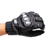 80pcs/lot PRO-BIKER Motorcycle Leather Gloves Dirt Bike Cycling Full Finger Gloves Motocross Off Road Sport Racing Gloves Luvas