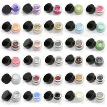 New Fashion 2014 Makeup Waterproof Eyeliner Gel Cream Eye Liner Eyes 24 Colors