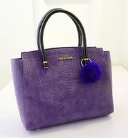 Fall/winter 2014 new Korean fashion hair ornaments wave bag lady bag shoulder handbag fashion women baodan bag