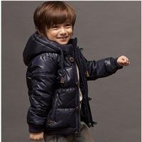 Children's wear the boy down jackets boys jacket anorak export high-end down jacket sale